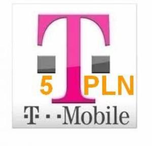 T-Mobile 5 Tak Tak Kod doładowanie Prepaid 5 PLN - 5 PLN - 2827267323