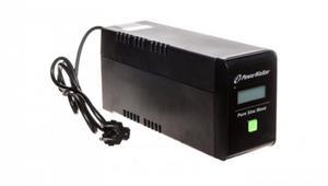 UPS POWER WALKER LINE-INTERACTIVE 800VA 2xPL 230V, czysta sinusoida, RJ11/45 IN/OUT, USB, LCD VI 800 SW/FR - 2904327794