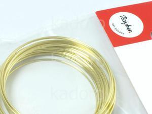 Drut mosiężny Rayher 1.2 mm - 3 m - 2850452834