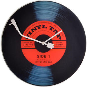 Zegar ścienny Nextime Vinyl Tap - 2828113768