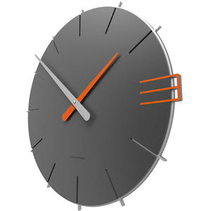 Zegar ścienny Mike CalleaDesign szary (10-019-3) - 2842066358