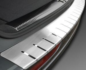 BMW X1 2009-2013 Nakładka na zderzak z zagięciem (stal)