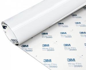 Folia Biały Połysk 3M G10 1080 152x500cm - 2828003526