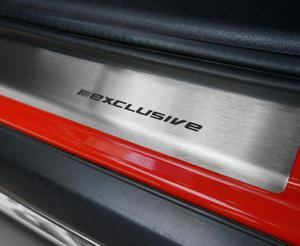VW UP 5D HATCHBACK od 2012 Nakładki progowe STANDARD mat 8szt - 2828006948