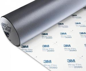 Folia Szary Mat Metallic 3M M261 1080 10x20cm