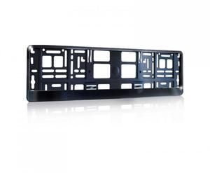 Ramka pod tablice rejestracyjną Metalizowana Czarna - 2828003859