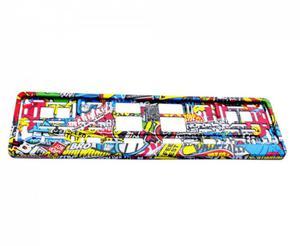 Ramka pod tablice rejestracyjną z hydrografiką Stickerbomb - 2835292254