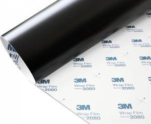 Folia Czarny Mat Satyna 3M S12 1080 10x20cm