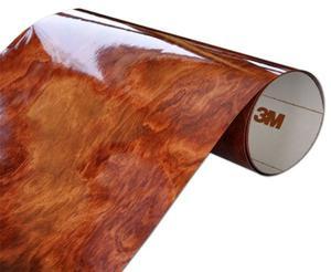 Folia Drewnopodobna 3M WG364GN 122x20cm