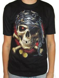 Koszulka z dwustronnym nadrukiem - PIRAT - 2848514542