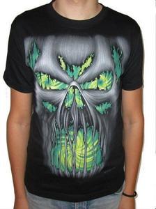 Koszulka gotycka z dwustronnym nadrukiem - FEAR - 2829283052