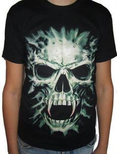 Koszulka gothic - WAMPIR CZASZKA - 2829283057