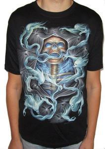 Koszulka z nadrukiem ŚMIERĆ Z DUSZAMI - 2829283061
