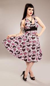 Sukienka z nadrukiem pin-up marki Vixxsin - MIA DRESS - 2829283814