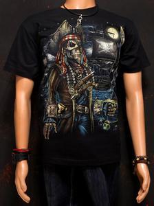 Koszulka marki Rock Eagle, świecąca w ciemności - PIRAT - 2829283841