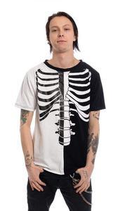 Koszulka gotycka szkielet - FRACTURE T-SHIRT - 2848514595
