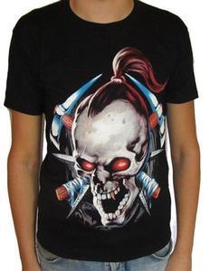 Koszulka z dwustronnym nadrukiem - YAKUZA - 2829283309