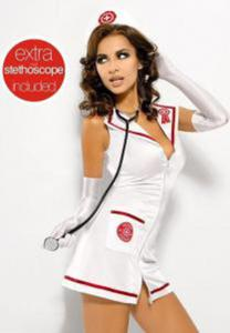 Obsessive Emergency Dress + stetoskop - 2887112905
