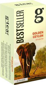 g'tea! Golden Ceylon 25 saszetek g'tea! Golden Ceylon 25 saszetek - 2864144576