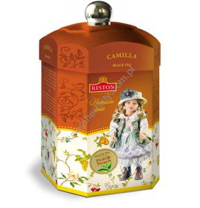 Riston Camilla herbata o smaku gruszkowo-brzoskwiniowym puszka 125g(301) Riston Camilla herbata o smaku gruszkowo-brzoskwiniowym - 2864144588