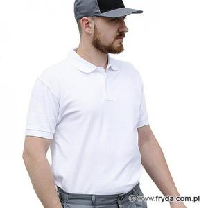 Koszulka Polo męska - kolor biały - 2825427234
