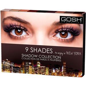 Gosh 9 SHADES SHADOW COLLECTION - TO ENJOY IN NEW YORK Paleta cieni do powiek 9 kolor - 2860190978
