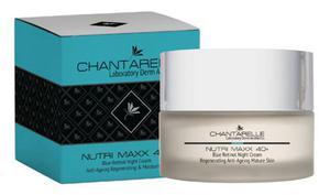 Chantarelle NUTRI MAXX 40+ Regenerująco-odmładzający krem na noc z błękitnym retinolem - 2846795951