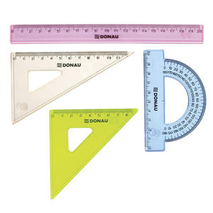 Zestaw geometryczny DONAU, mały, zawieszka, mix kolorów - 2829139717