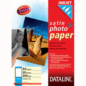 Papier fotograficzny półmatowy A4/260g. Dataline. Esselte. 20 arkuszy - 2829137315