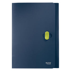 Teczka plastikowa, ekologiczna na dokumenty Leitz re:cycle. 100% ekologiczna. mieści do 150 kartek - 2829137783