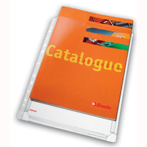 Koszulki poszerzane na katalogi, 10 szt. w folii. Leitz. bez klapki - 2829137789