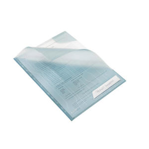 Folder A4 Leitz Combifile. Koszulki / ofertówki Leitz. przezroczysty niebieski - 2829137813