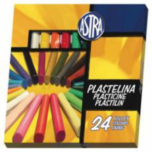 Plastelina 24 kolory Astra - 2829138083