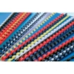 Grzbiety do bindowania 6 mm, 100 szt. czerwony ARGO - 2829135464