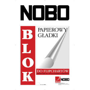 Blok FIPCHART gładki 65X100 40 kartek NOBO - 2829138746