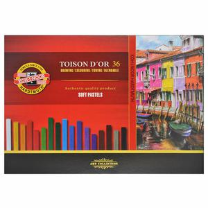 Kredki pastelowe suche 36 kolorów 8512 KOH I NOOR - 2829138757