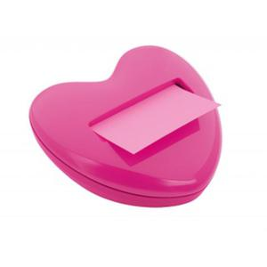 Podajnik do karteczek POST-IT w kształcie serca, bloczek gratis - 2829139097