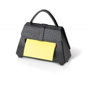 Podajnik do karteczek POST-IT w kształcie torebki, bloczek gratis - 2829139098