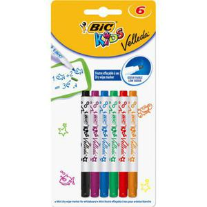 Markery Mini BIC Kids Velleda Blister 6 szt. - 2829139117
