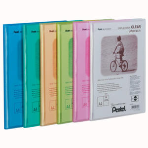 Album ofertowy A4, 20 kieszeni, Clear DFC Pentel - 2829135590