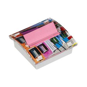 Zestaw promocyjny Post-it Z-Notes (C2014-12FI), podajnik Millenium + 12 neonowych i różowych bloczków (R330NA) + 3 podwójne wkłady - 2829139343