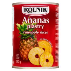 Rolnik Ananas plastry - 2825232054