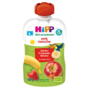 HiPP BIO Wesołe Owoce Jabłka-Truskawki-Banany po 8. miesiącu