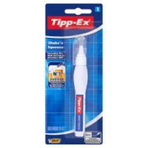 Tipp-Ex Shake'n Squeeze Korektor w piórze biały - 2875387528