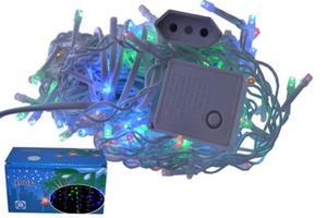 sople 100 LED lampki CHOINKOWE MULTI OZDOBY 3m - 2858644932