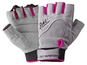 TREC Rękawiczki Womens Fitness Gloves (Szaro-Różowe) - 2833228068