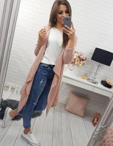 Sweter damski Cloe różowy (my0124) - 2856536572