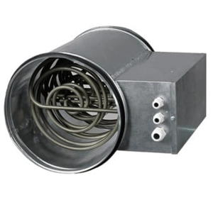 Nagrzewnica elektryczna okrągła fi 200 3,4kW - 2832529896