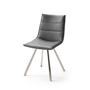 ALI II krzesło tapicetowane kpl. - szary - 2876822058