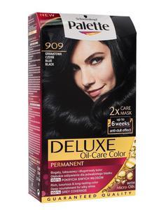 Palette Deluxe Farba do włosów permanentna nr 909 Granatowa Czerń 1op. _dsu24.pl - 2876119323